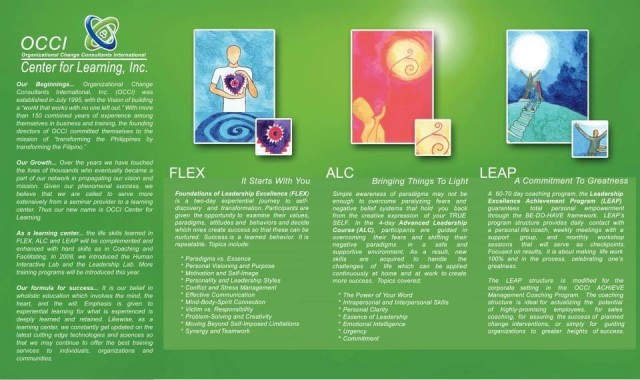 FLEX, ALC, LEAP - A Beautiful, Insightful Experiential Journey