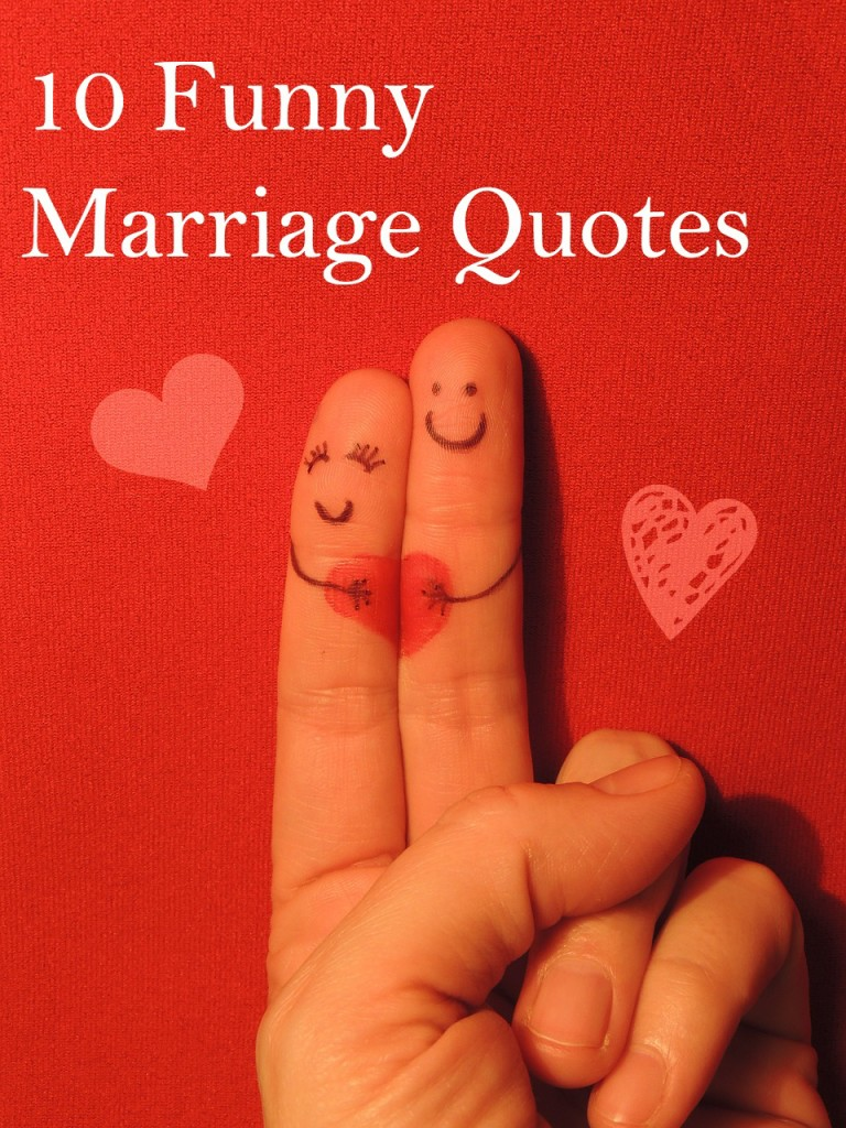 Funny Marriage Quotes - Wifely Steps