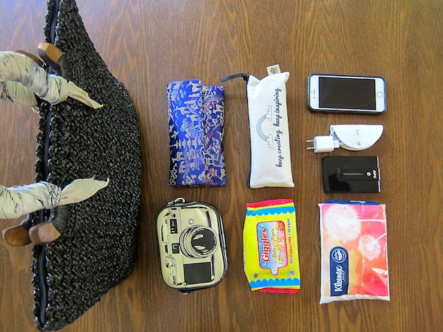 What's in my Humabi bag? My essentials!