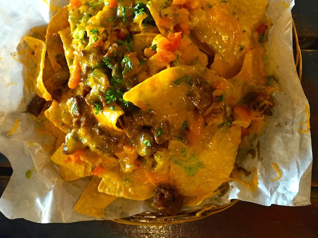 Beef Nachos from Silantro